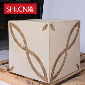 天然复合大理石魔方砖 魔方盒子 MFHZ-44