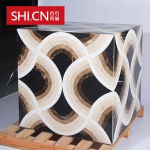 天然复合大理石魔方砖 魔方盒子 MFHZ-88