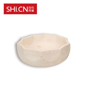 大理石洗手盆 XSP-025 木化石