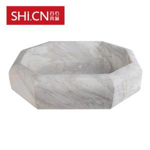 大理石洗手盆XSP-064 雅典白