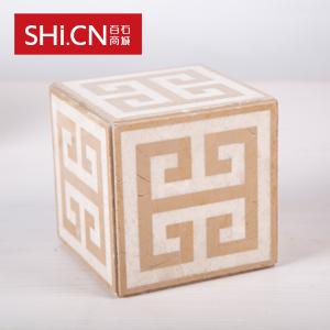 天然复合大理石砖  魔方盒子 MFHZ-1515