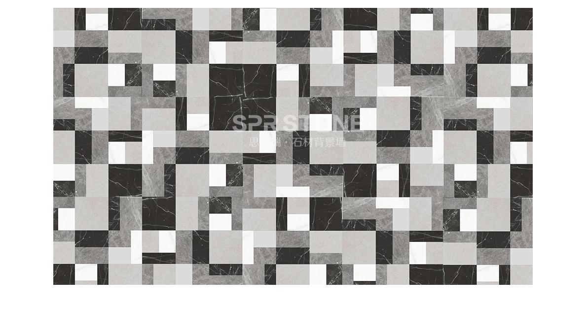 思普瑞石材背景墙 SPR-068